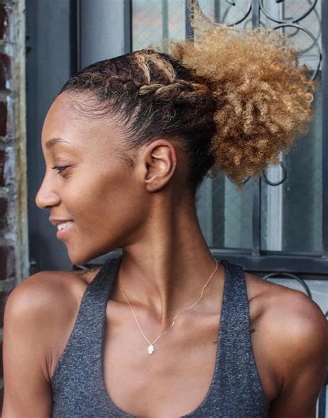 curly pony tails for african american women 17 best images about hair on pinterest ghana braids
