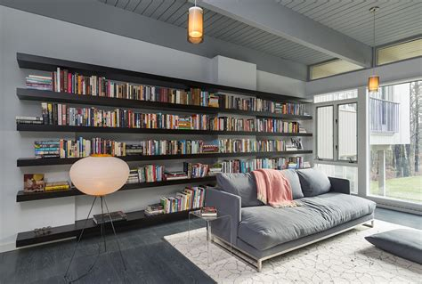 living room book sofa lighting living room book shelve mid century modern house in lincoln