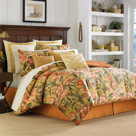 hawaiian bedding tommy bahama tropical lily comforter duvet sets from beddingstyle com