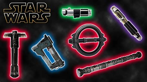 different lightsaber colors different lightsaber styles canon wars explained