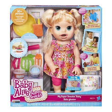 Baby Alive Snack Snackin Boneka Baby Alive Snackin baby alive snackin pink and blue magazine