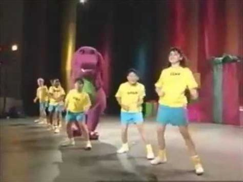 barney backyard gang concert backyard gang rap barney in concert soundtrack youtube
