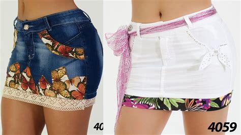 imagenes modelos de falda jean falda corta jeans youtube