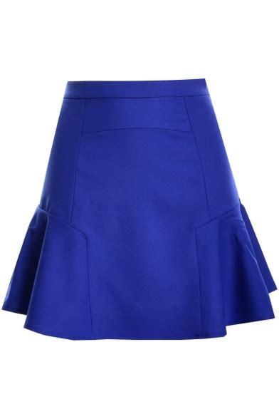 2351peplum Mini Dress High Quality With Necklace plain high waist asymmetric ruffle hem mini skirt quality unique skirts dressale