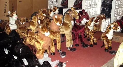 Boneka Mini Kuda mainan kiddie amusement boneka kuda jalan ready stock