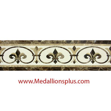 decorative tile borders waterjet tile borders design 84 medallionsplus