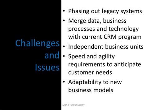 How To Merge Technology With An Mba Degree by Hp Oracle Crm