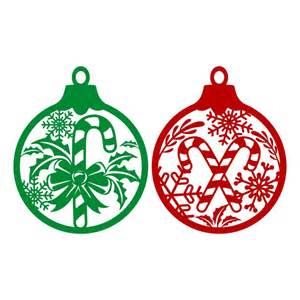 christmas ornament cuttable design