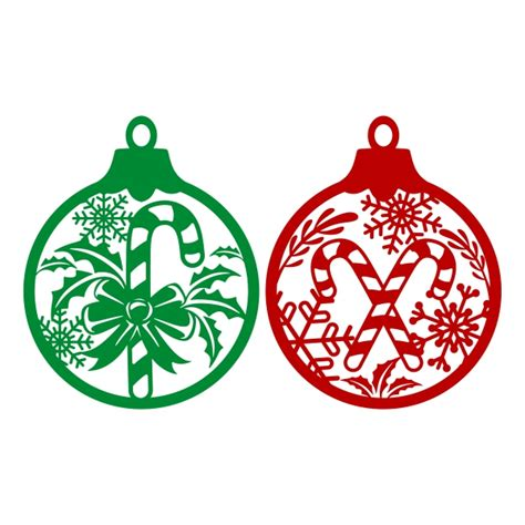 christmas ornament cuttable design