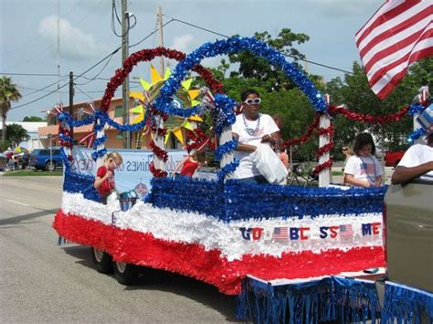 themes for a carnival float cheap 4th of july float decorations awesome fourth of july