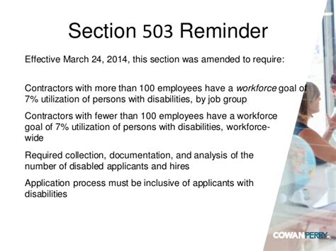 ofccp section 503 affirmative action update 2016