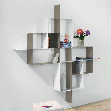 scaffali moderni libreria scaffale design mondrian 5 in acciaio 200 x 200 cm