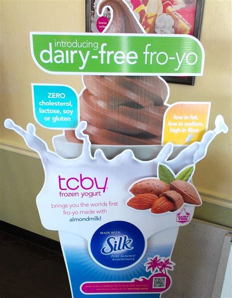 Tcby Yogurt Gift Card - tcby launches the first nationwide dairy free frozen yogurt go dairy free