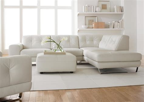 White Leather Sectional Sofa With Chaise White Leather Sectional With Chaise Living Room Comfortable Ideas Pictures 13 Chaise Design