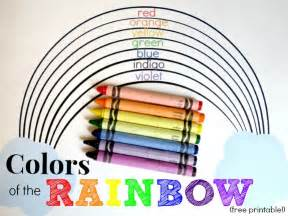 Learning in an instant colors of the rainbow inner child fun