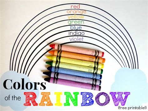 the colors of the rainbow in order learning in an instant colors of the rainbow inner