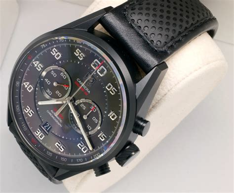 Tag Heur Grand Carera Calibre 36 Rubber With Date Mesin Transparant on review calibre 36 flyback the home of
