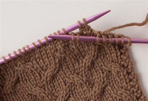 cn knitting knit tech cable knitting without a cable needle ennea