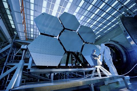 the room telescope maryland building the webb telescope in nasa s clean room