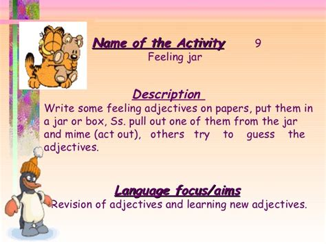 themes for english speaking club 39 activities for english lesson