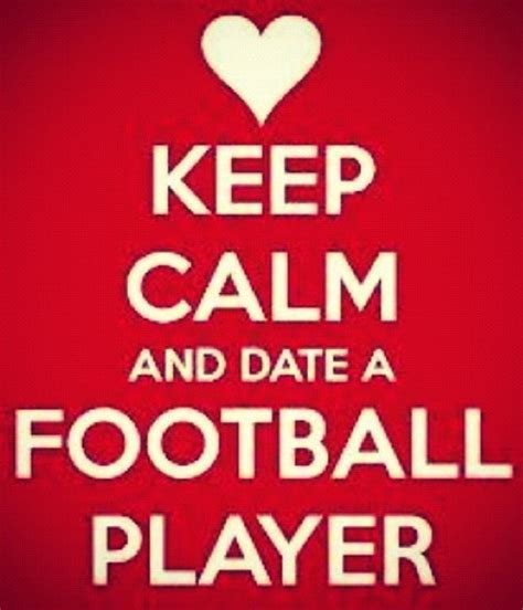 football player girlfriend quotes