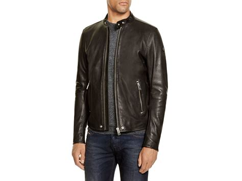 Lyst Diesel L Roshi Leather Jacket In Black For