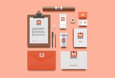 design photo mockups branding identity mockup psd graphicsfuel