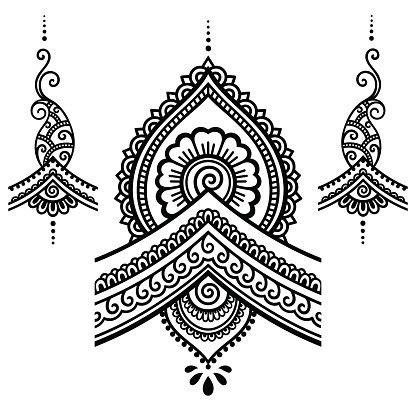 henna tattoo hand blume 29 henna muster schablone makedes