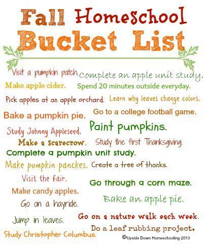 Weekend Links Egotastic 9 by Fall Activities Weekend Links Homeschool Free