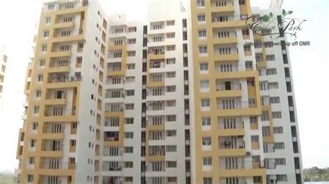 appartments in chennai l t edenpark villa apartments omr chennai phase1 youtube
