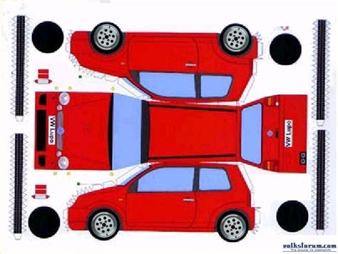 How To Make A Papercraft Car - papercraft car model f40 paper for