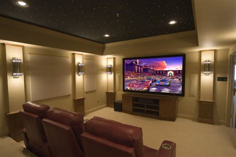 lighting concepts to consider with your home theater