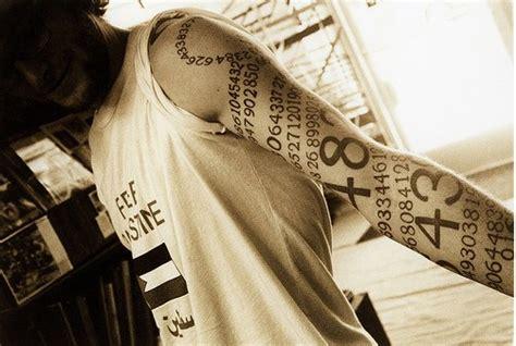 arm tattoo numbers tattoo designs 187 tattoo numbers around the arm