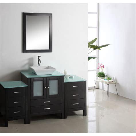 Virtu Bathroom Accessories by Virtu Usa Brentford 63 Quot Single Sink Bathroom Vanity