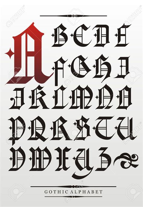 g t typography 17929600 font alphabet with decorations calligraphy