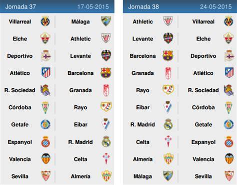 jadwal pertandingan sepakbola liga spanyol 2014 2015 info jadwal liga spanyol musim 2014 2015 info terkini 2016