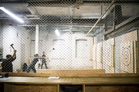 backyard axe throwing league batl grounds blogto toronto