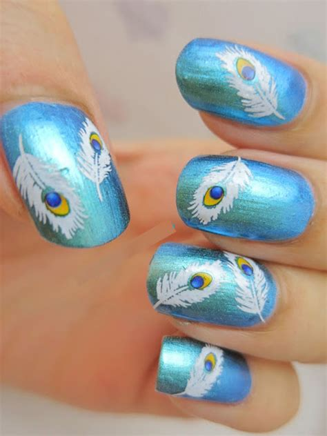 nail painting for free stylish peacock nail designs ideas inspiring nail