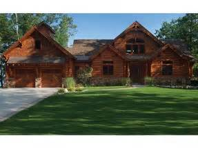 Rambler Floor Plans Walkout log cabin house plans at eplans com country log house plans