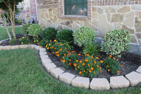 flower bed stones make this your new home call or text 972 921 9979 for