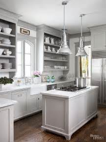 Light Gray Kitchens 12 Gorgeous And Bright Light Gray Kitchens Table And Hearth