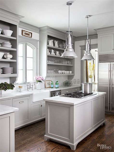 Light Grey Kitchen 12 Gorgeous And Bright Light Gray Kitchens Table And Hearth