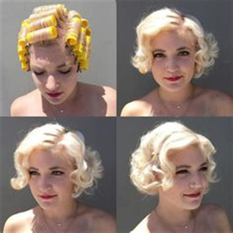 roller set styles for short pixie cut 1000 images about vintage hair howtos on pinterest pin