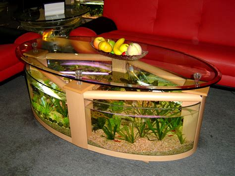 coffee table aquarium creative aquarium table decorating room decorating ideas