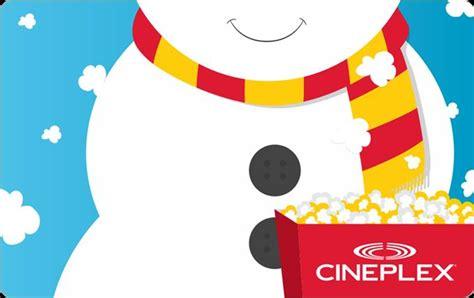 Cineplex Holiday Gift Bundle   cineplex holiday gift bundle