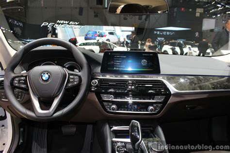 bmw 5 series dashboard india bound 2017 bmw 5 series dashboard at the 2017 geneva