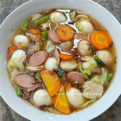 resep  sayur rumahan sederhana jajan bakso