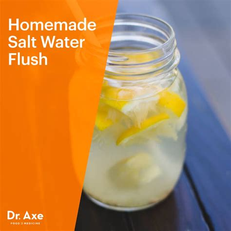 Sea Salt Detox Master Cleanse Recipe by Salt Water Flush Recipe Dr Axe