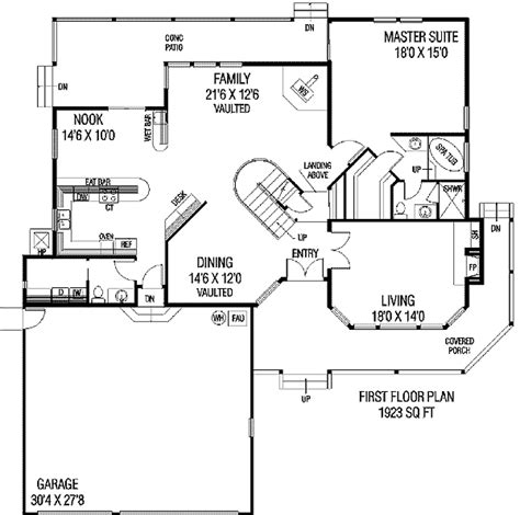 House Plans With Lots Of Glass by Country Home Plan With Lots Of Glass 7869ld 1st Floor