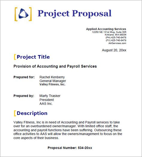 business proposal template 14 download free documents